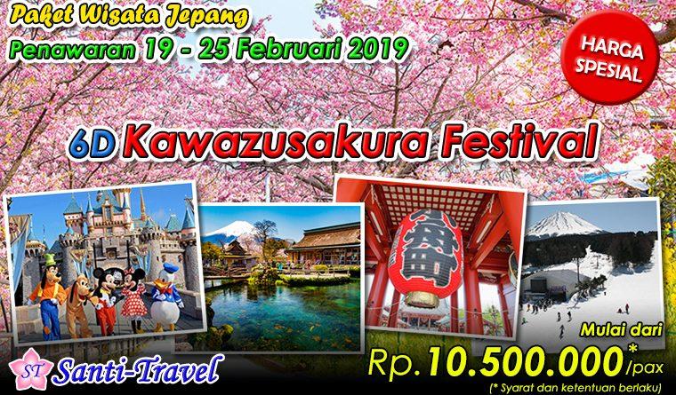 Paket Wisata Jepang – Kawazusakura Festival
